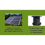 Bulk Solar PV Cable 100 feet 10AWG  Made in US