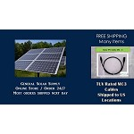 MC3 Solar Power Wiring PV Cable 60ft General Solar Supply.com