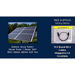 MC4 Solar Power Cable 60 ft FREE SHIP Solar MC4